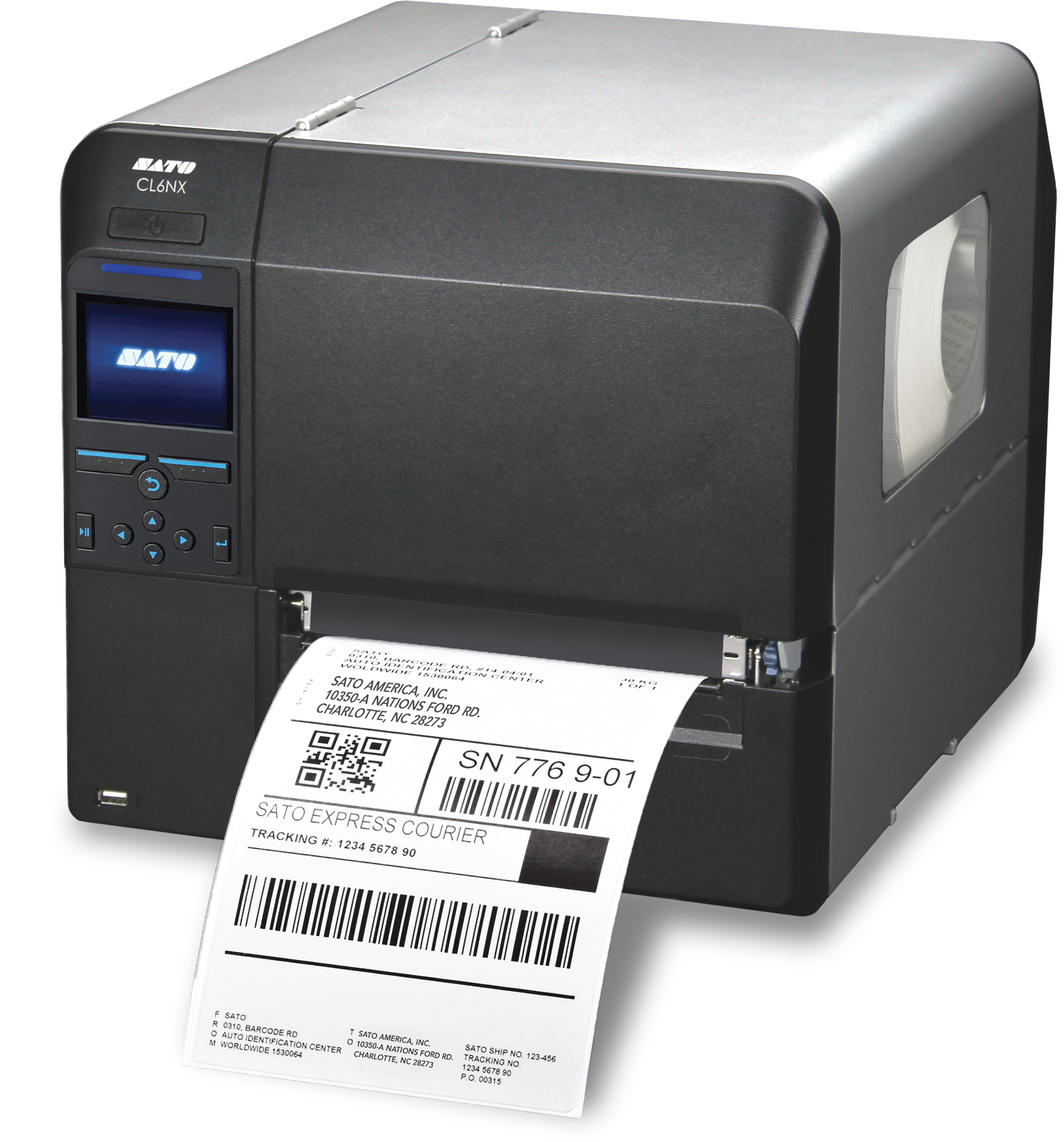 Sato CL6NX Series High Performance Industrial Thermal Printers