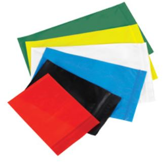 Reclosable Colored Poly Bags