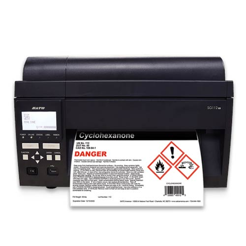 Sato SG112-ex Printer Labels