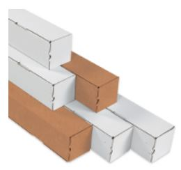 Square Mailing Tubes